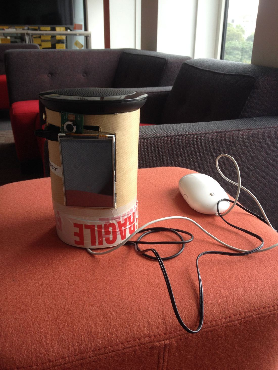 A presence robot with Chromium, WebRTC, Raspberry Pi 3 and EasyRTC